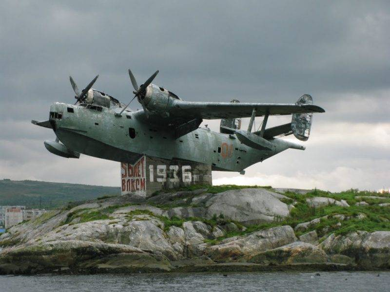Летающие лодки бериева