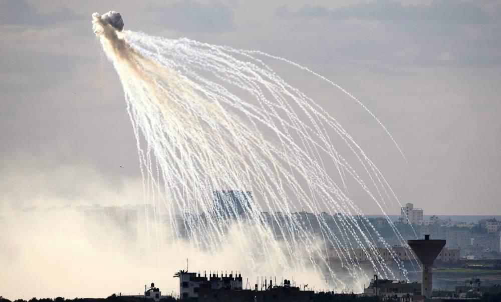 Фосфорные боеприпасы