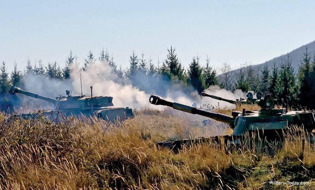 Самоходная артиллерийская установка — википедия с видео // wiki 2