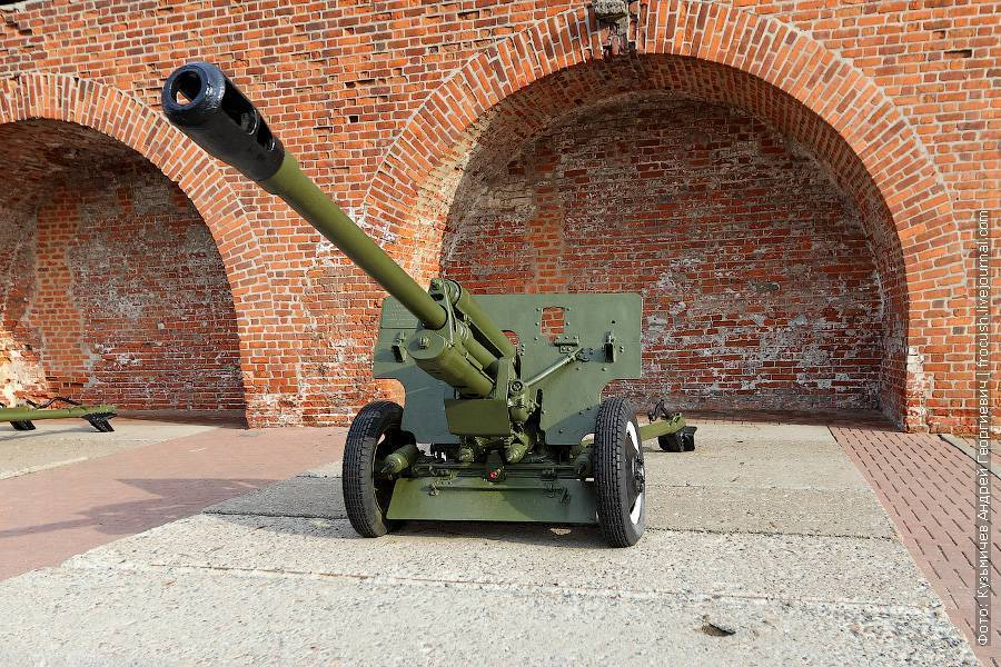 Дивизионная пушка зис-3: биография рекордсмена