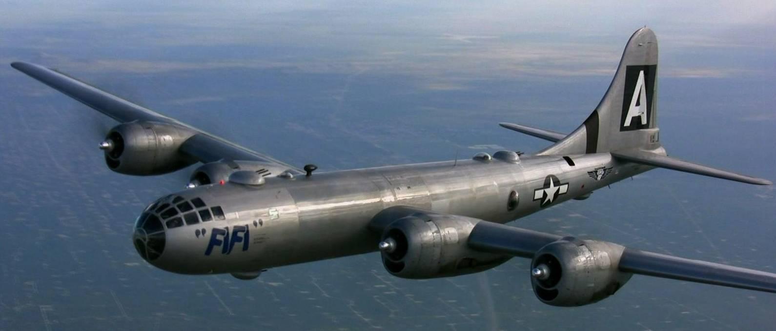Бомбардировщик боинг b-29 «суперкрепость»   армии и солдаты. военная энциклопедия