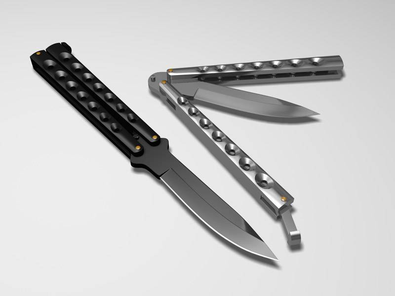 Ножи - всё о ножах: нож бабочка