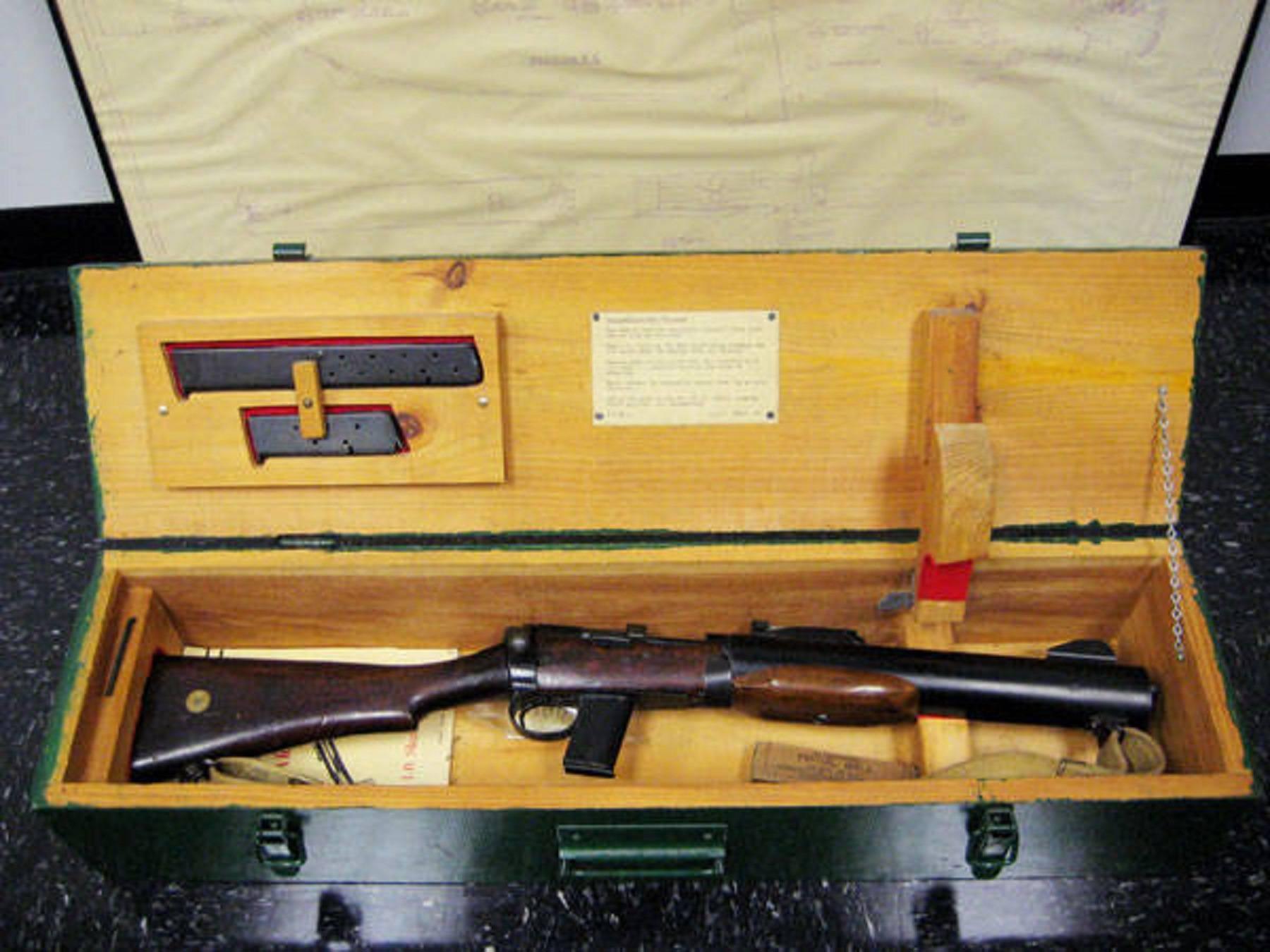 Делиль карабин - de lisle carbine