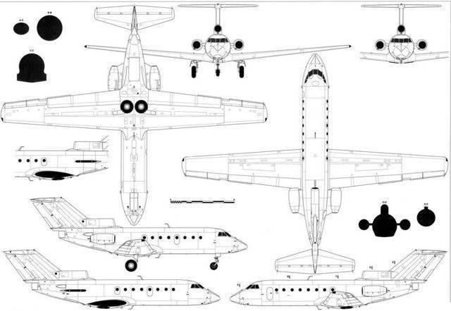 Турбореактивный Як-40: орел мух не ловит