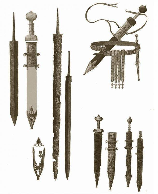 Гладиаторы: экипировка и вооружение