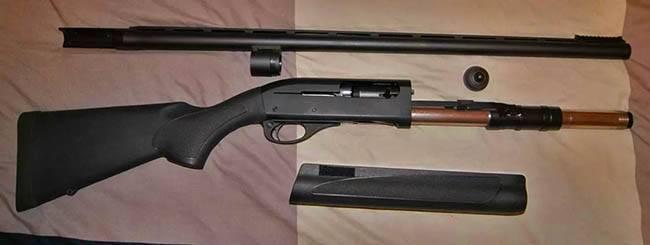 Remington model 887 notice