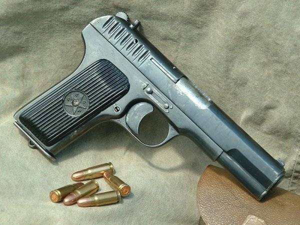 Пистолет ТТ (Тульский Токарев) калибр 7,62-мм обр. 1930 г.
