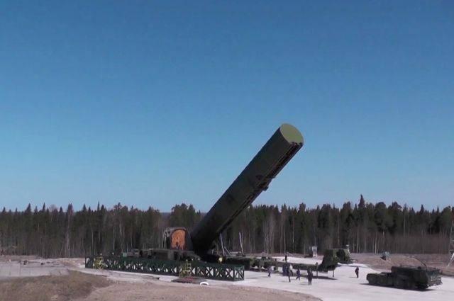 Межконтинентальная баллистическая ракета сармат. ракета «сармат» – средство сдерживания или повод для эскалации главное отличие новой ракеты