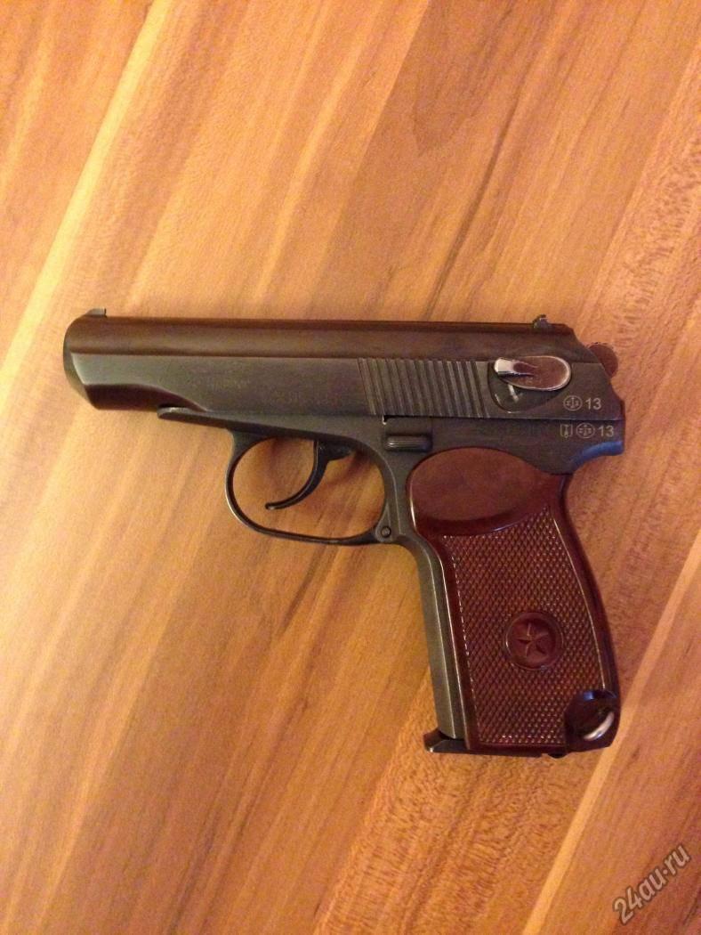 Тест травматических пистолетов калибра .45 rubber