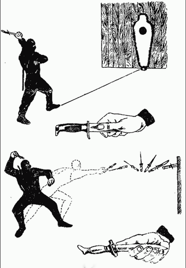 Метательное оружие ниндзя