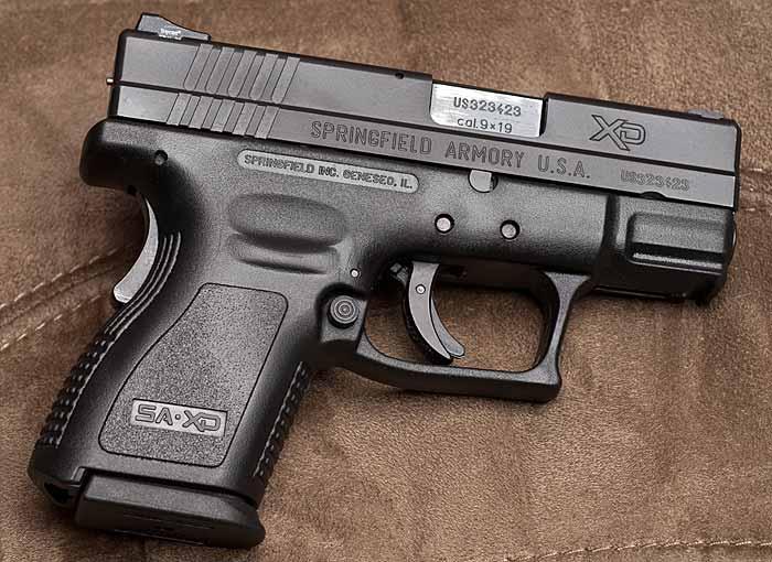 Пистолет springfield armory xdm