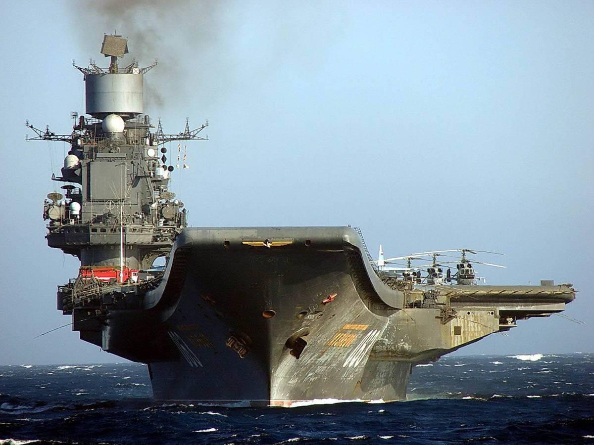История авианосца «адмирал кузнецов» наполнена драматичными событиями