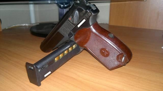 Травматический пистолет вий