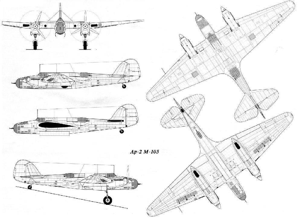 Самолет туполев ант-2. фото. история. характеристики.