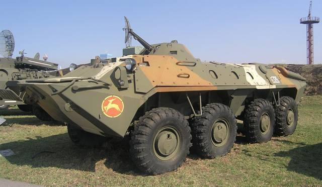Бтр-50 двигатель. вес. размеры. вооружение