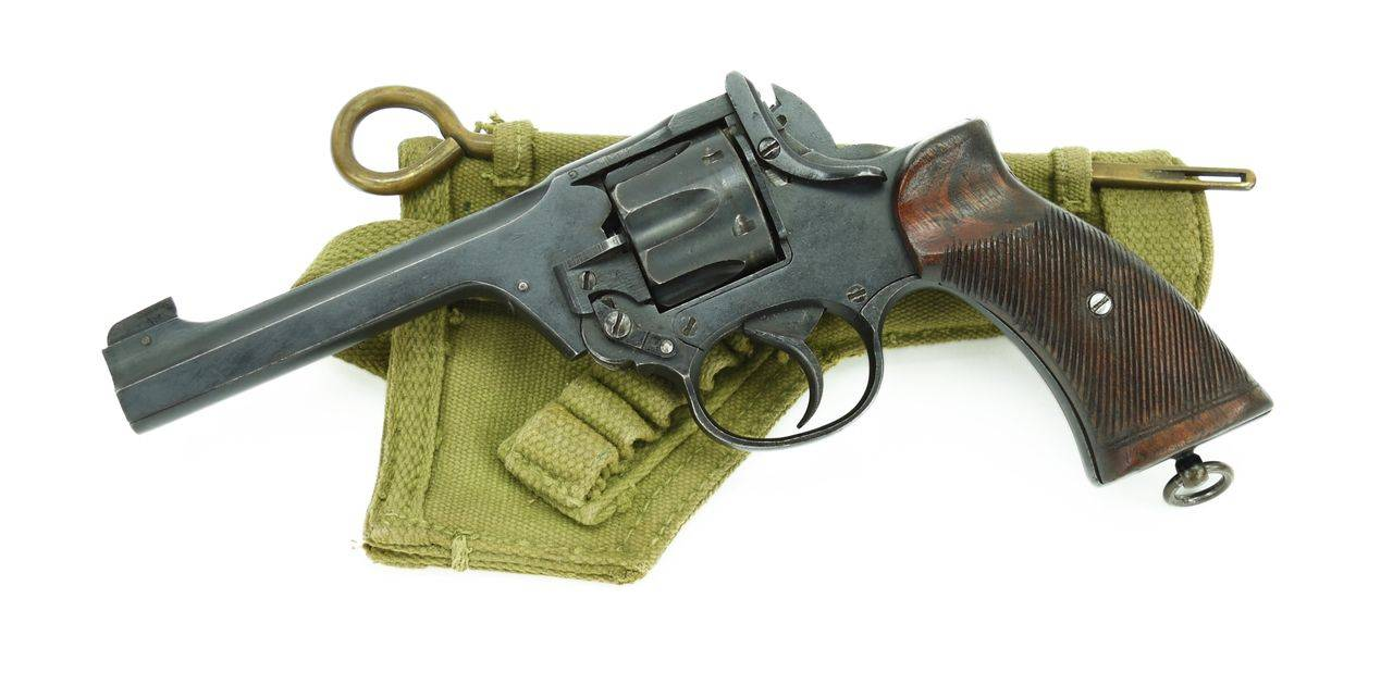 Enfield no. 2 - internet movie firearms database - guns in movies, tv and video games