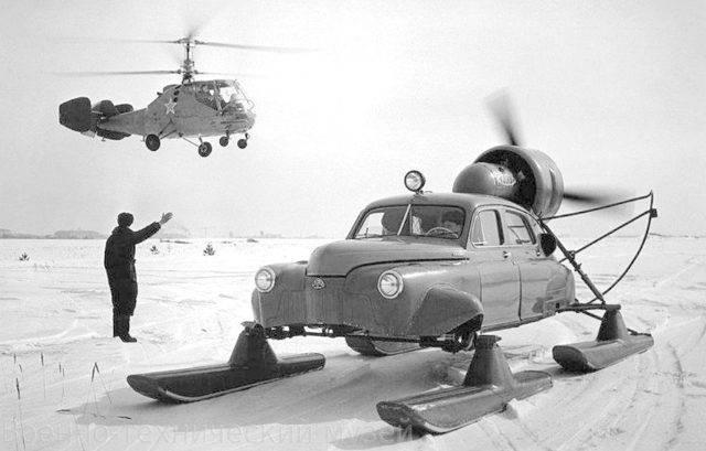 Снегоходы отавиаторов: наши сани едут сами