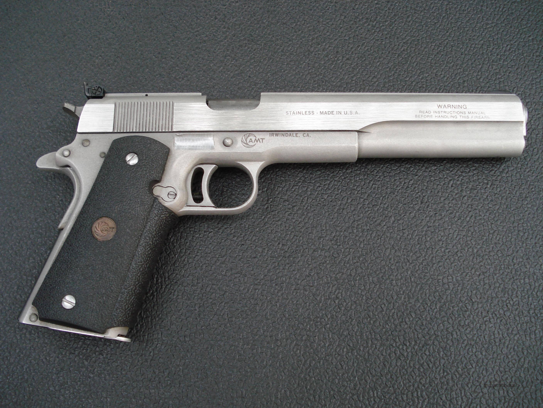 Пистолет AMT Hardballer