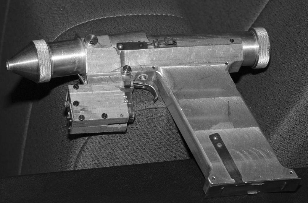 Для чьей самообороны в 1984 году в ссср создали лазерный пистолет?