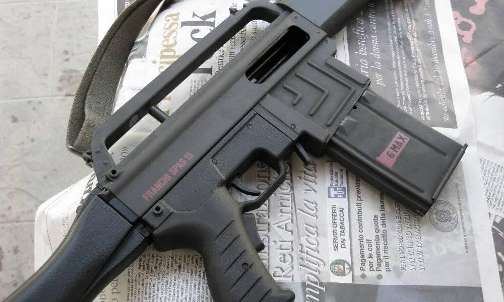 Гладкоствольное ружье spas-15