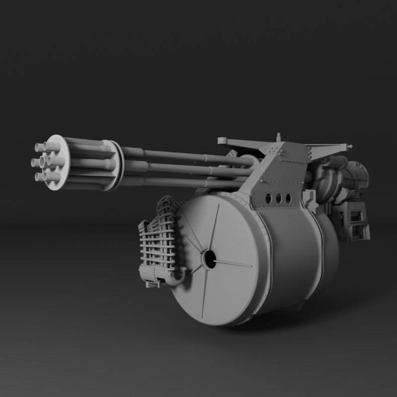 Шестиствольный вулкан. авиационная пушка m61 vulcan – второе рождение системы гатлинга. в цель, но не сразу