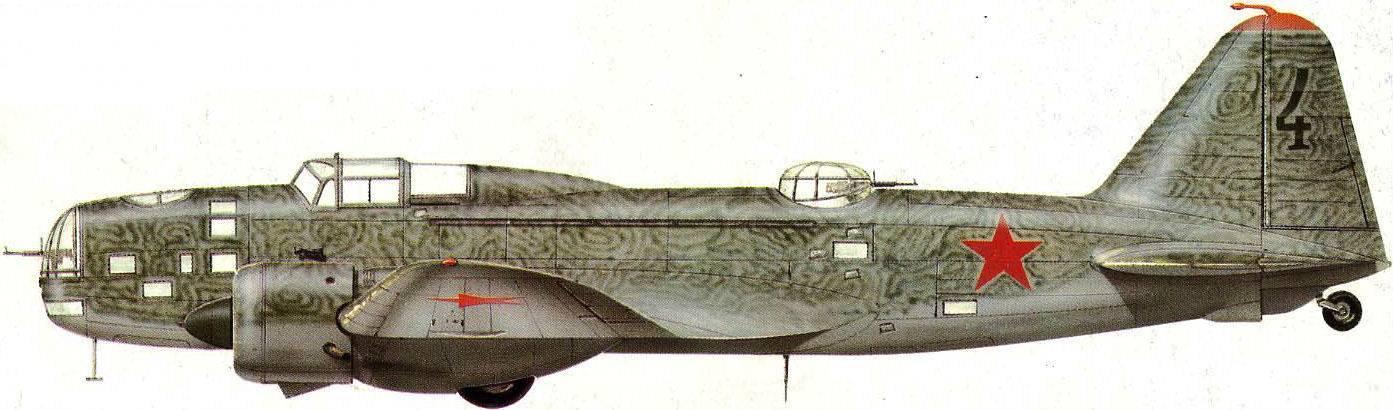 Ил-4. боевое применение.