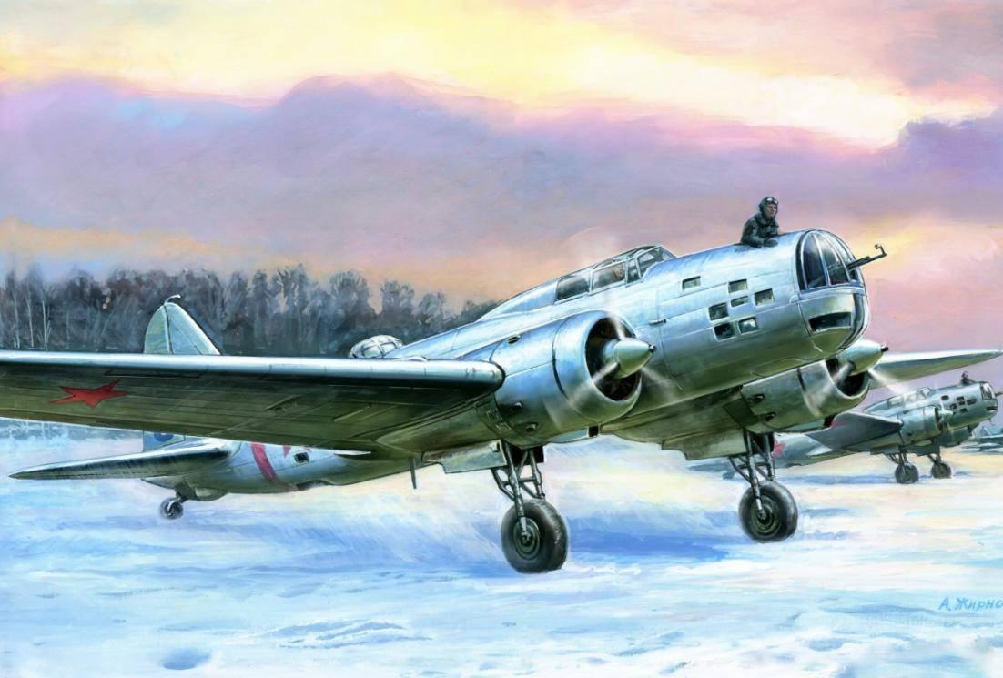 Бомбардировщики  дб-3 (ил-4)