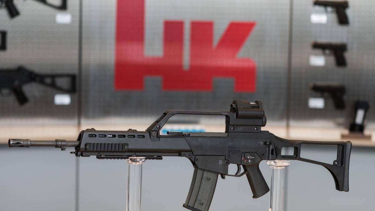 Видео: штурмовая винтовка heckler & koch 417