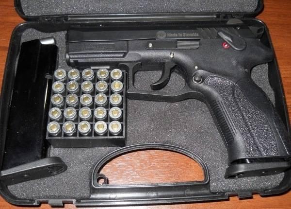 Травматический пистолет «grandpower»