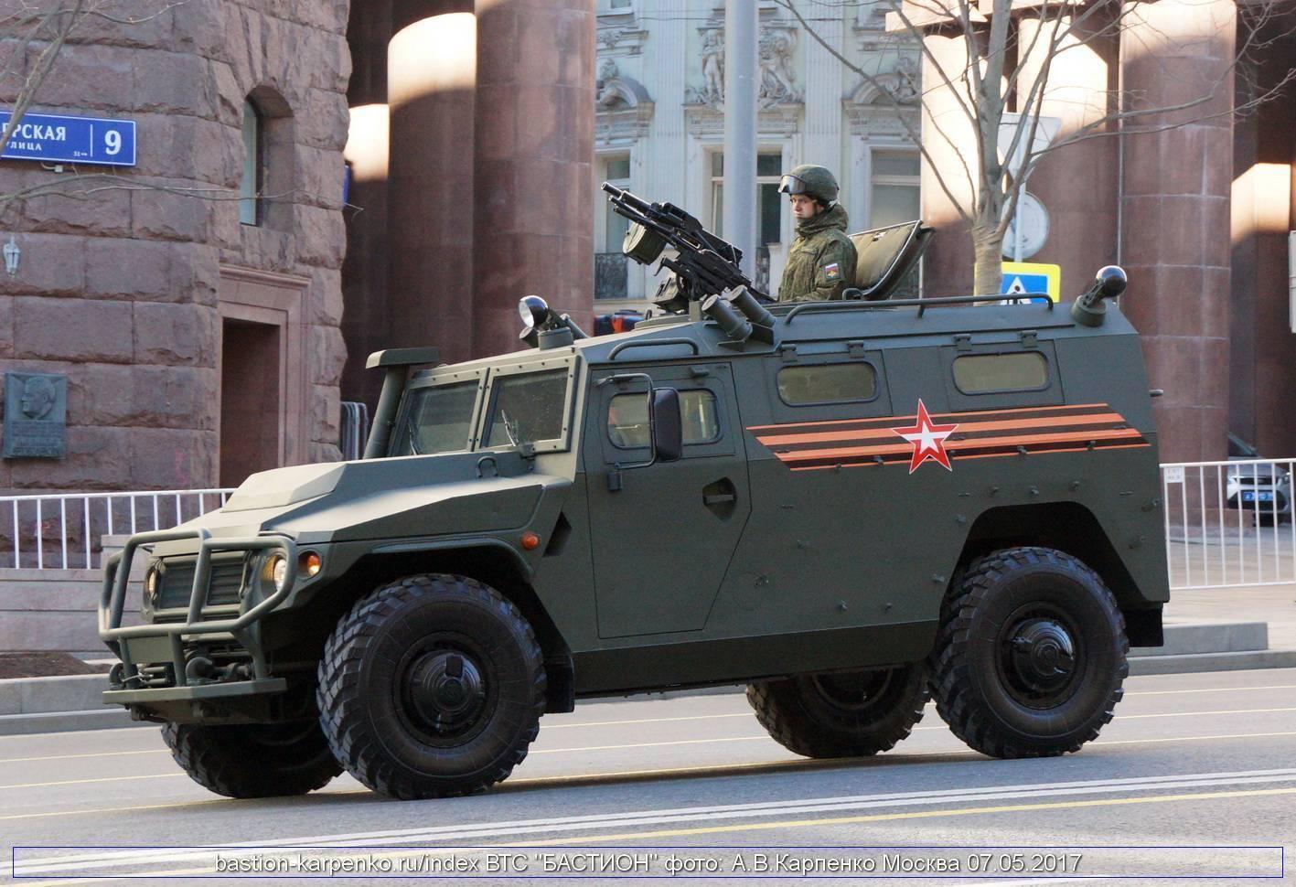 Бронеавтомобиль Тигр – случайный проект армии РФ