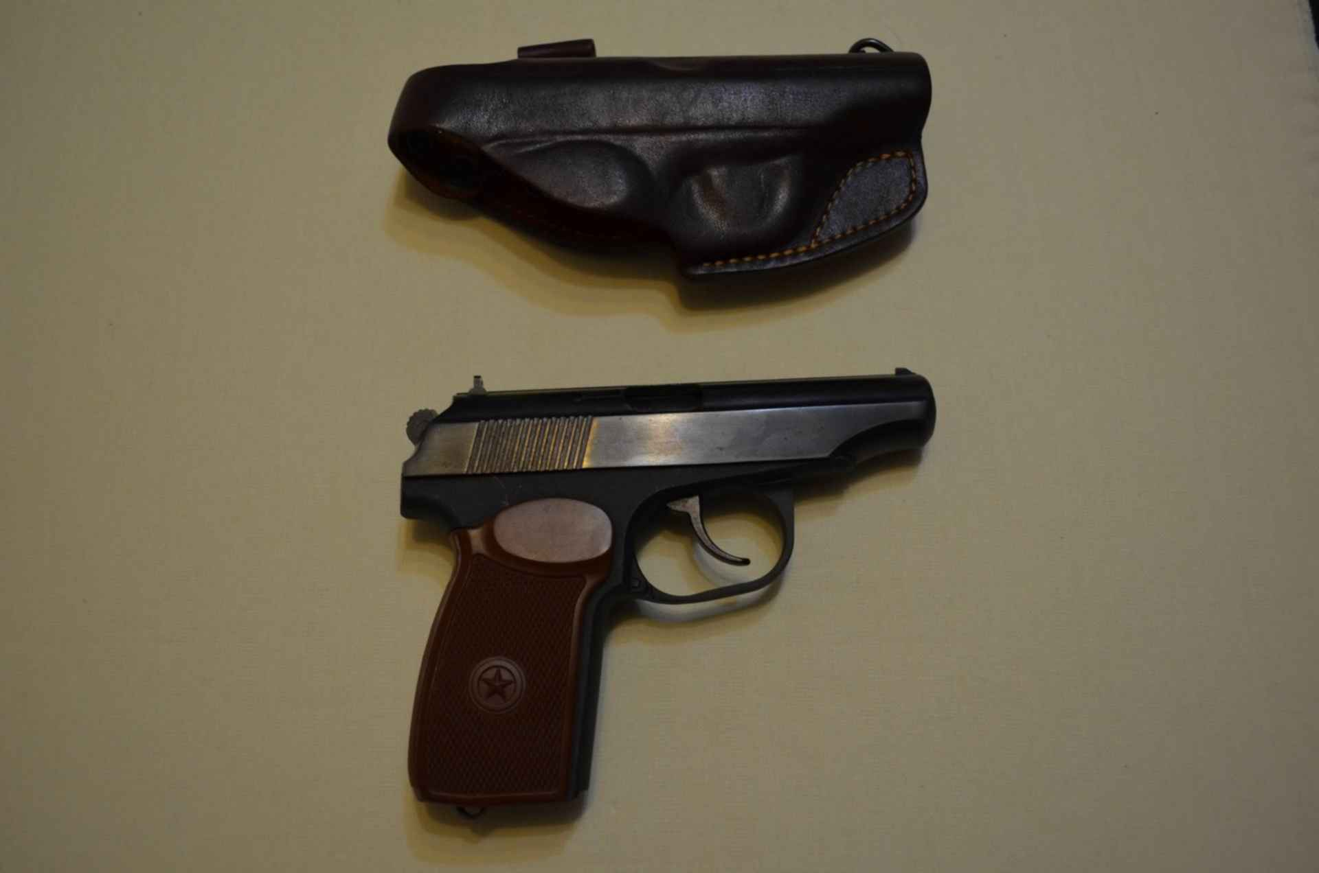 Травматический пистолет Макарыч Иж-79-9Т-10