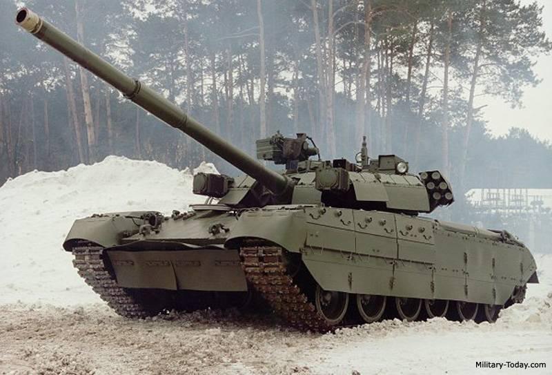 Танк т-84у «оплот»