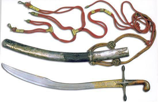 Ятаган – коварный клинок на службе янычар. ятаган - оружие турецких янычар. как сражались ятаганом ятаган холодное оружие