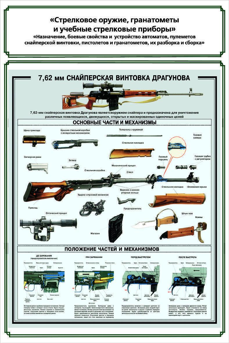 Снайперская винтовка драгунова - свд