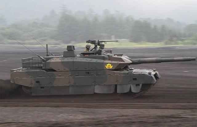 Тип 10 — новейший японский основной танк