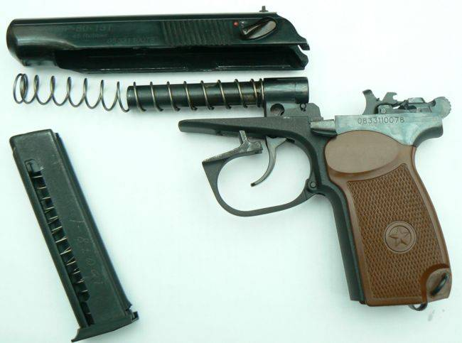 Сделано руками. травматический пистолет п-м17т