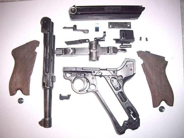 Пистолет Люгер Парабеллум Р08