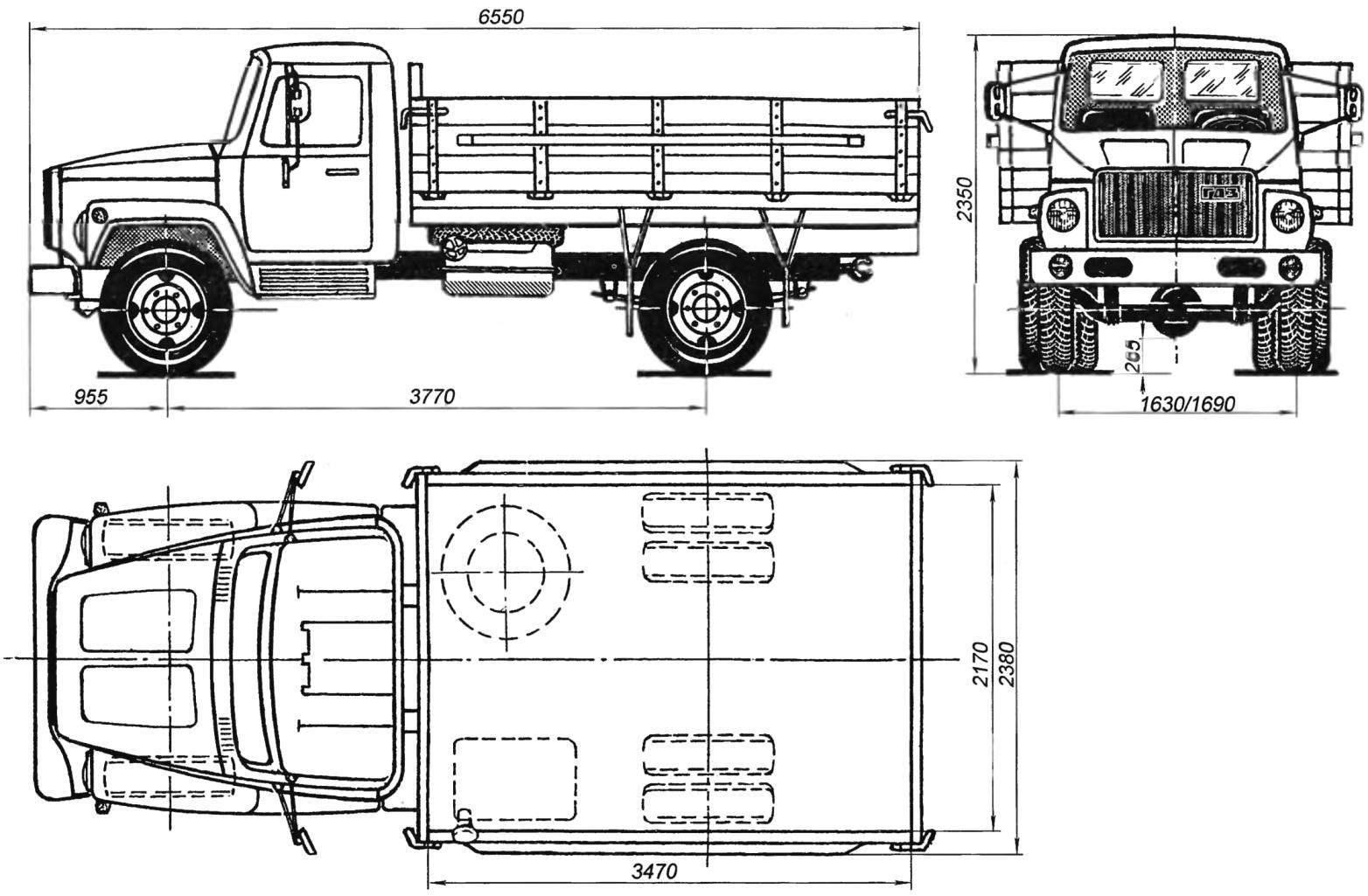 Газ 4301 - дизельный грузовик-пятитонник
