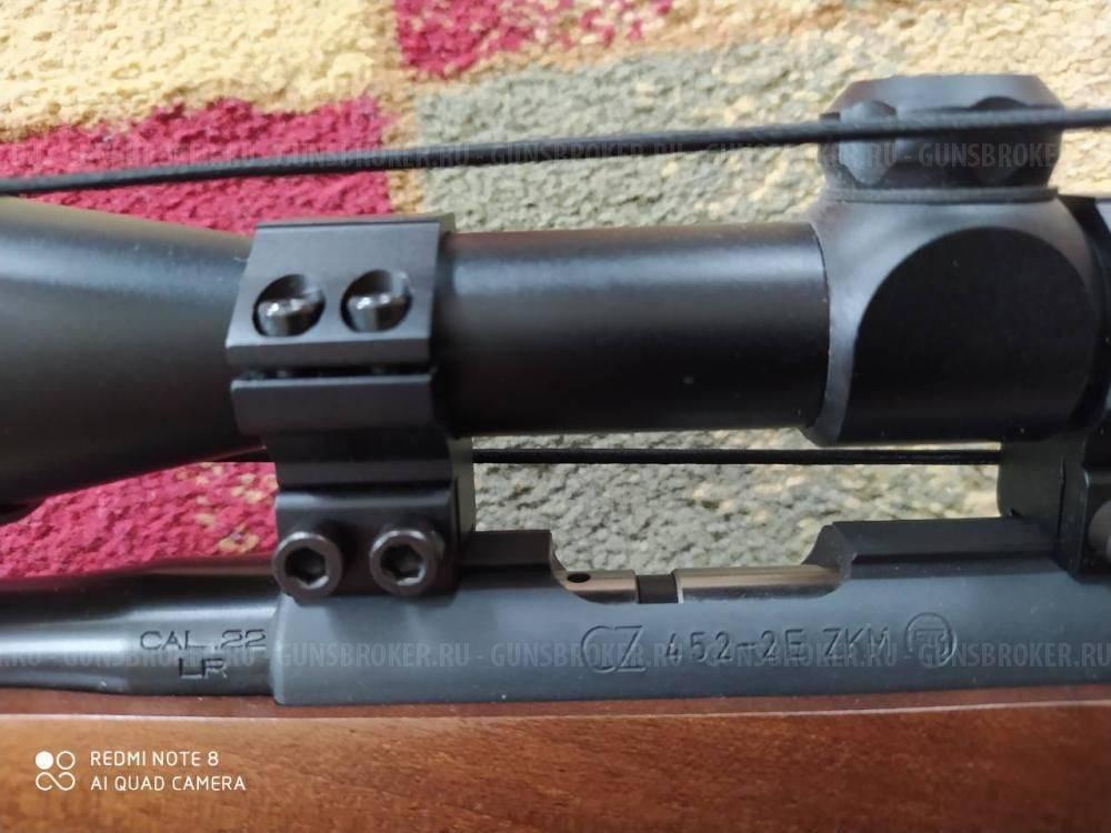 Чешская мелкокалиберная винтовка cz 452