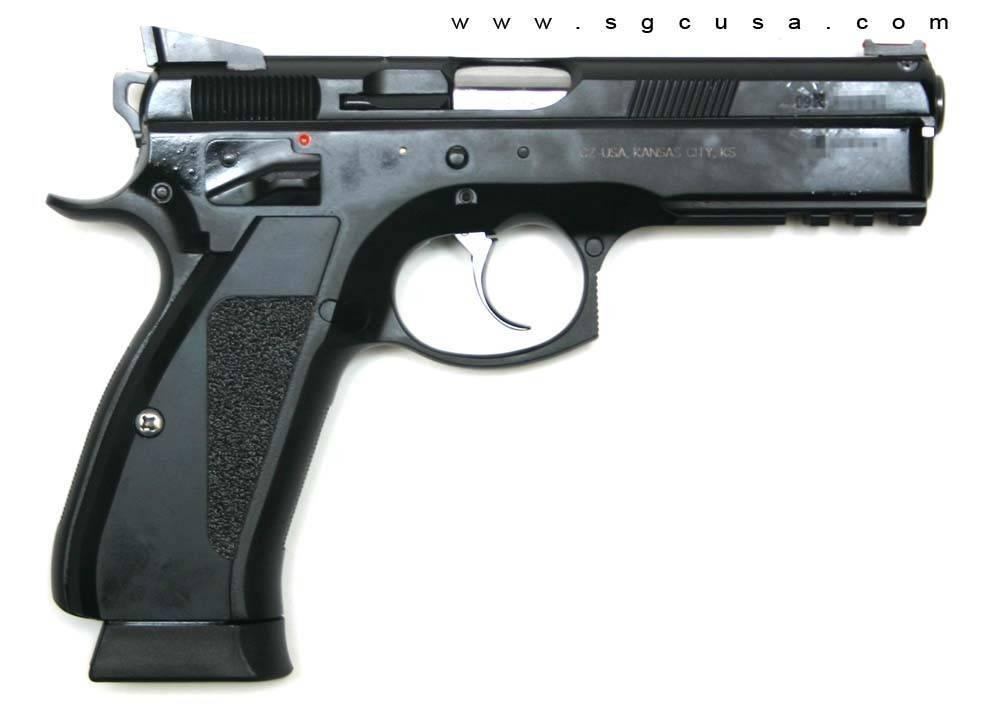 Cz 75 пистолет — характеристики, фото, ттх