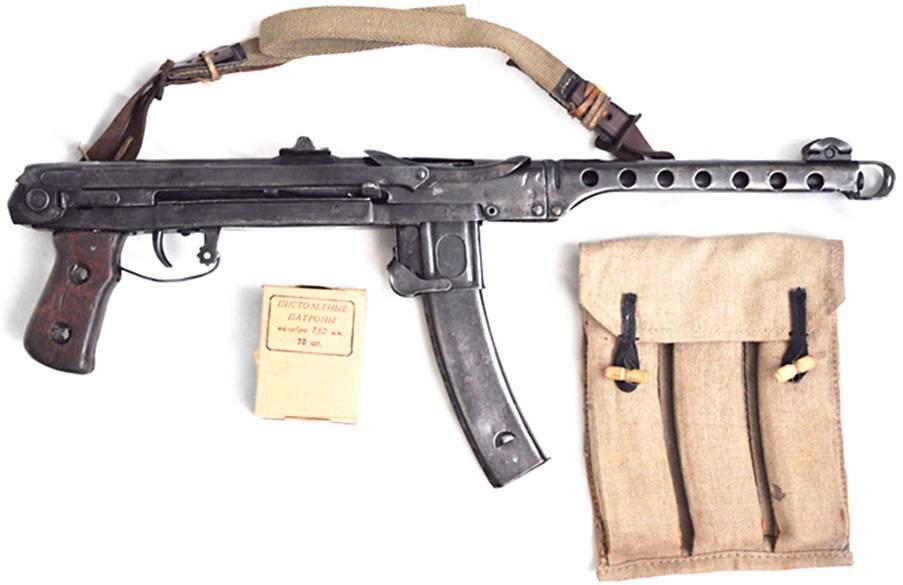Пистолет-пулемёт судаева