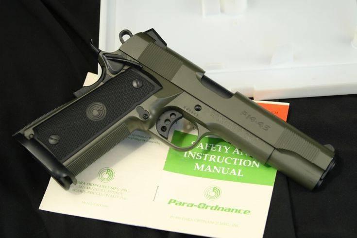 Пистолет para ordnance p14-45