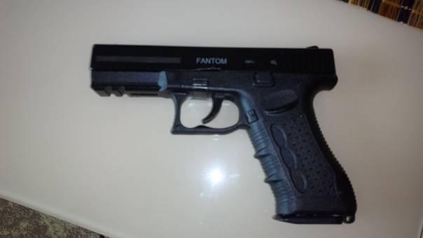 Травматический пистолет Фантом — произведение турецких инженеров