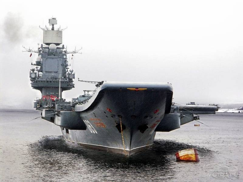"""Авианесущий крейсер """"адмирал кузнецов"""". история проекта, характеристики, происшествия"""