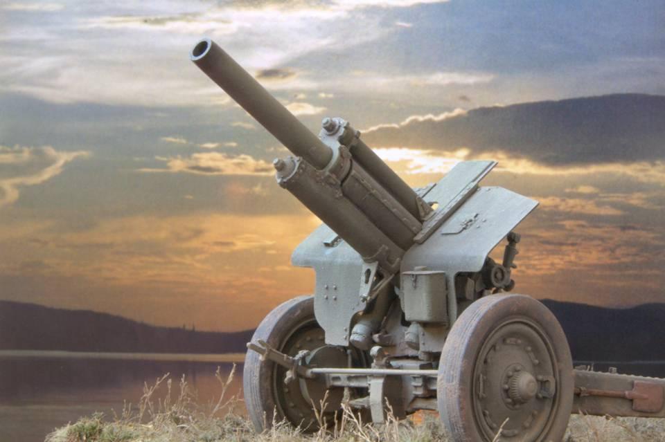 107-мм дивизионная пушка образца 1940 года (м-60)