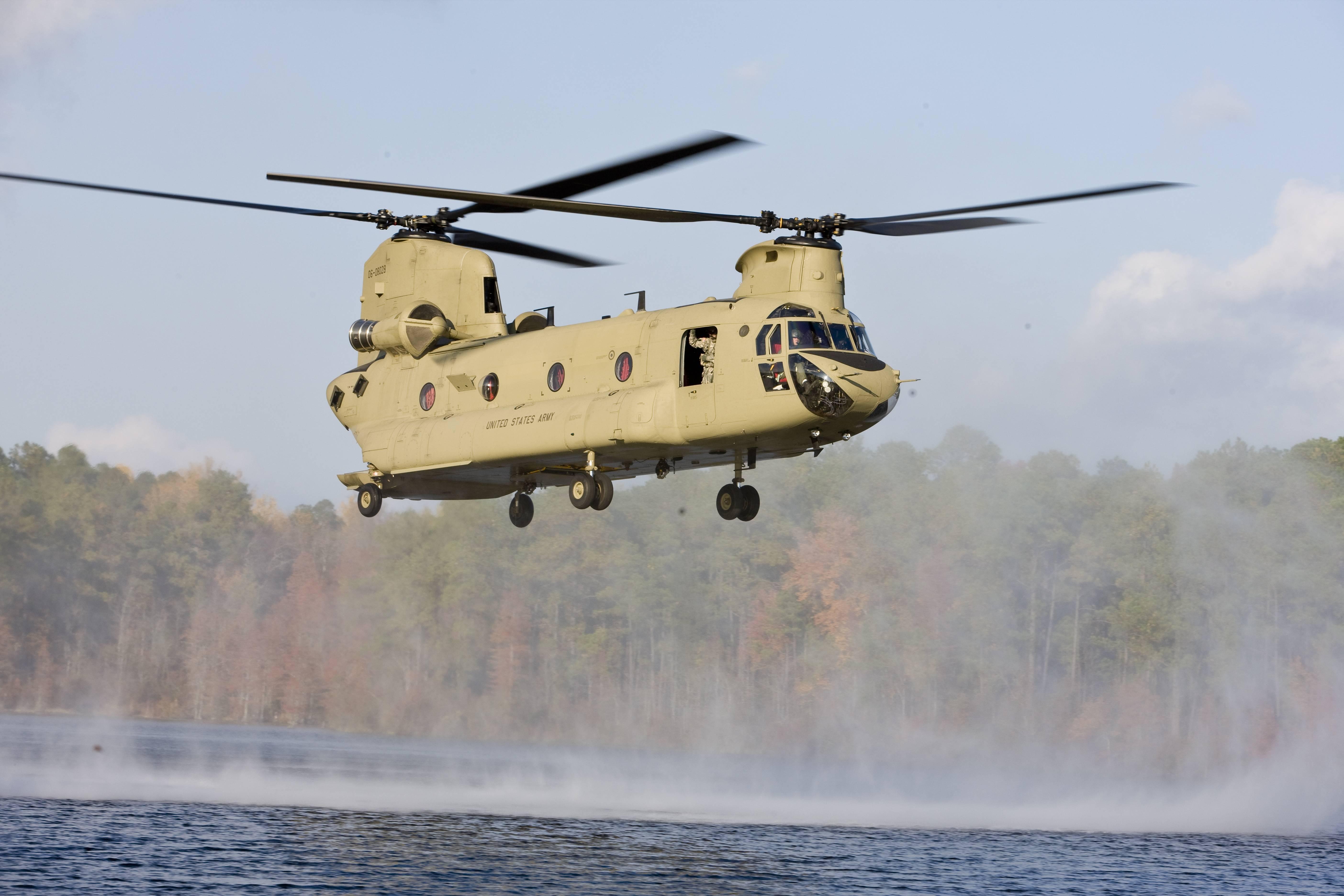 Транспортный вертолет boeing-vertol ch-47 chinook: «чинук» — «летающий вагон»