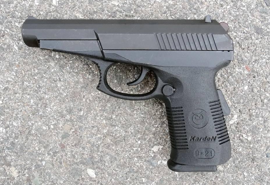 Отечественный пистолет высокой мощности «гюрза» - cadelta.ru