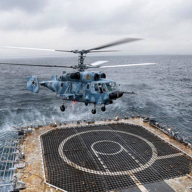 Вертолёт Ка-29 – штурмовик для морской пехоты