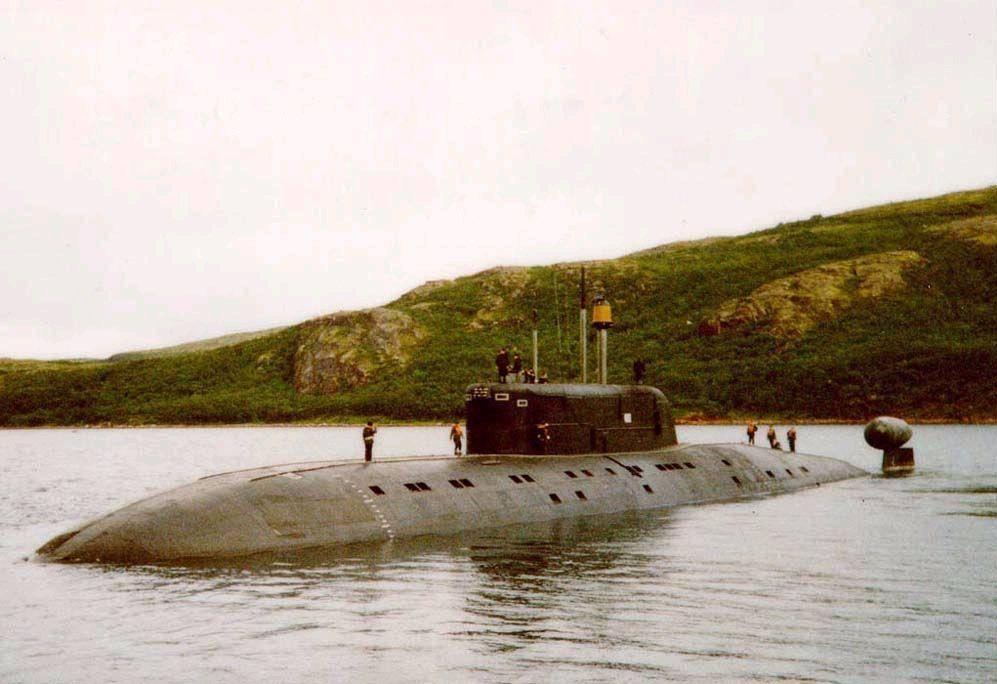Атомная подводная лодка (проект 945) «барракуда» | военный портал