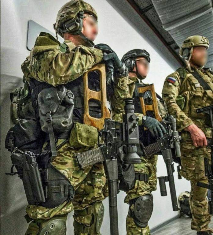 Черная форма спецназа — какой она должна быть